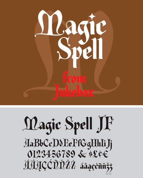 Magic Spell JF Font