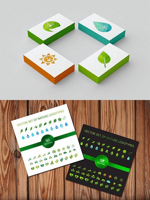 50 Ecology Symbols