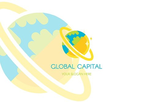 Global Finance Capital Logo Template