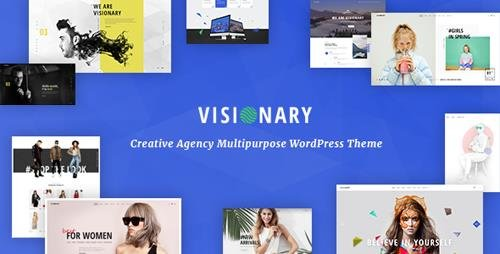 ThemeForest - Visionary v1.4.3 - Creative Agency Multipurpose WordPress Theme - 15866206
