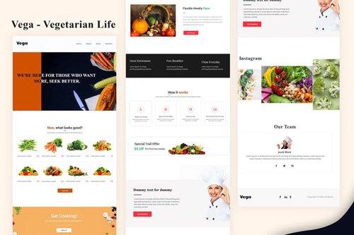 Vega - Vegetarian Life Email Newsletter