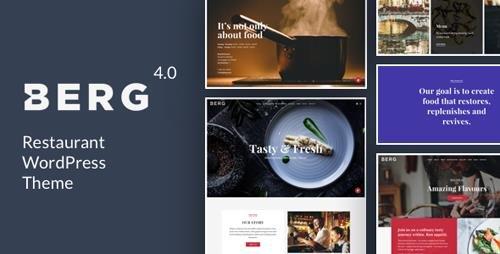 ThemeForest - BERG v4.2 - Restaurant WordPress Theme - 8936855