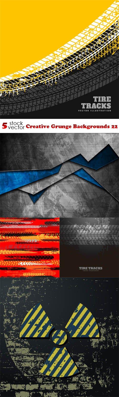 Vectors - Creative Grunge Backgrounds 22