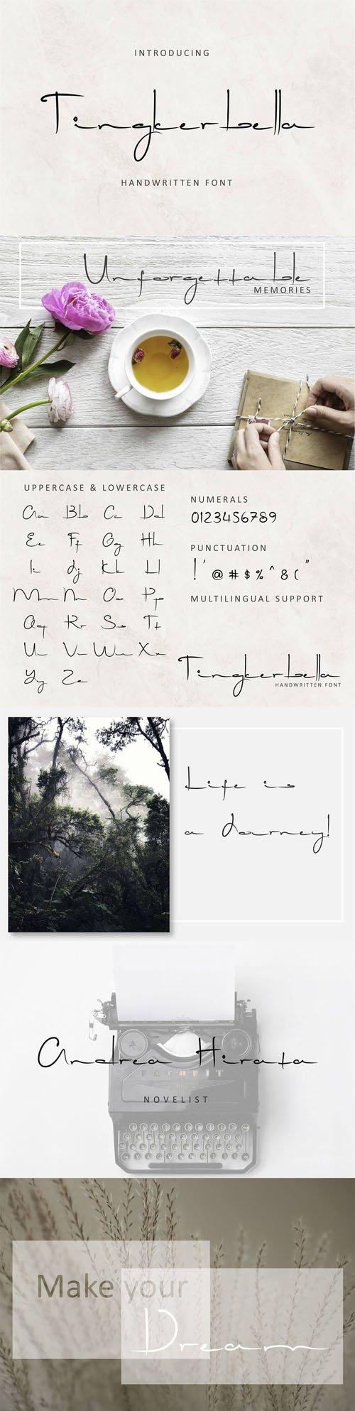 Tingkerbella Handwritten Font