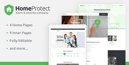 ThemeForest - HomeProtect - Smart Alarm & Security Systems PSD Template - 4 January 19 - 22341528