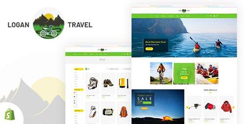 ThemeForest - Logan v1.0 - Trekking & Camping Store Shopify Theme - 21573838