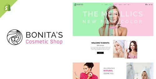 ThemeForest - Bonita v1.0 - Cosmetics, Salon Shopify Theme - 22453219