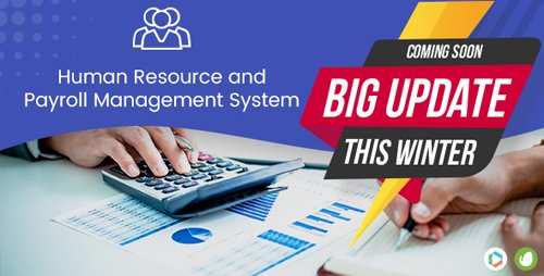 CodeCanyon - Human Resource & Payroll Management System v1.4 - 19534191 - NULLED