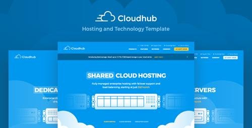 ThemeForest - Cloudhub v1.11 - Hosting and Technology HTML Template - 21072525