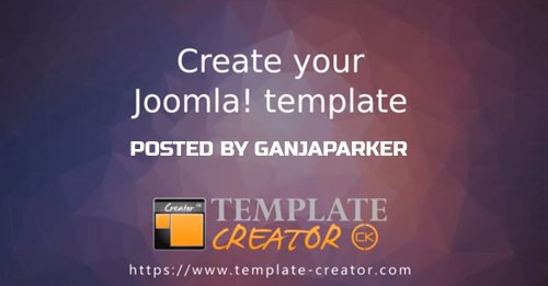 Template Creator CK v4.0.15 - Create Your Joomla Templates