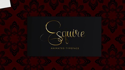 MA - Esquire Animated Text 144105