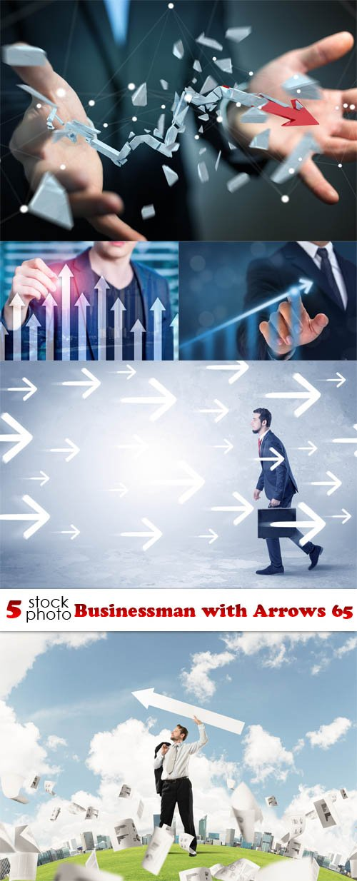 Photos - Businessman with Arrows 65