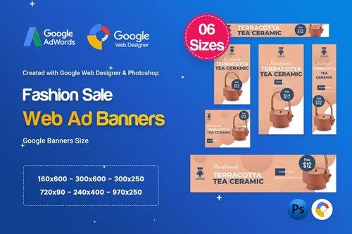 Product Sale Banners HTML5 D42 Ad - GWD & PSD - BQ9DYB