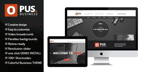 ThemeForest - Opus Business v1.7 - Multipurpose Business WordPress Theme - 8486694
