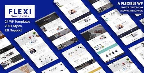 ThemeForest - Flexible WordPress Theme | Flexi v3.1 - 19676844