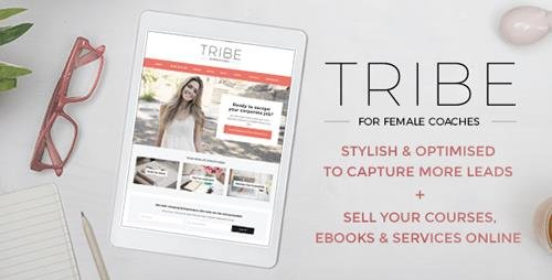 ThemeForest - Tribe Coach v1.3.4 - Feminine Coaching Business WordPress Theme - 19283661