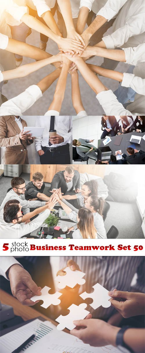 Photos - Business Teamwork Set 50