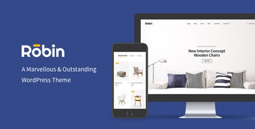 ThemeForest - Robin v1.7.4 - A Furniture WooCommerce WordPress Theme - 20045842