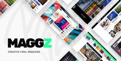 ThemeForest - Maggz v1.2 - Viral Magazine Theme - 21072194
