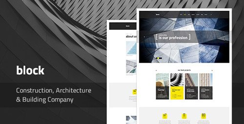 ThemeForest - Block v1.0.3 - Construction, Architecture, Building Company WordPress Theme - 19512360