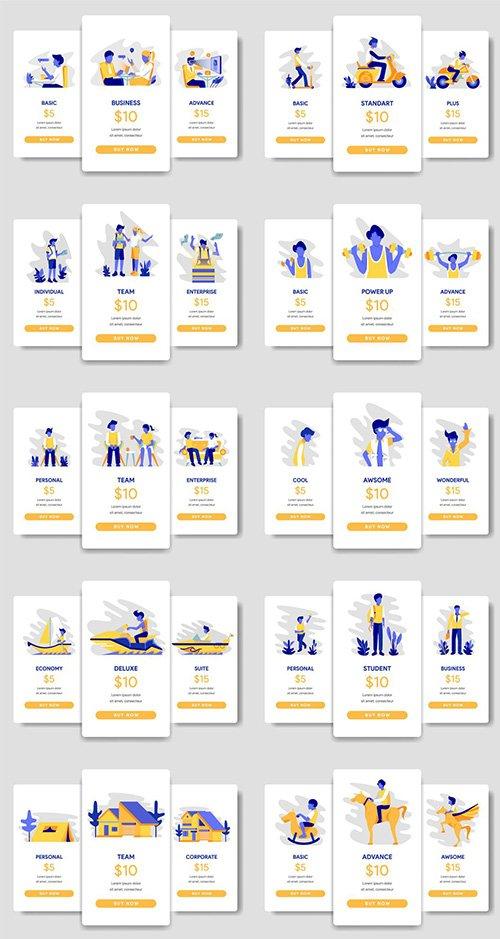 10 Pricing Illustrations