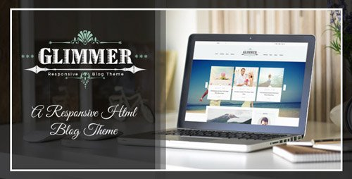 ThemeForest - Glimmer - A Responsive HTML Blog Theme (Update: 9 December 15) - 13584268