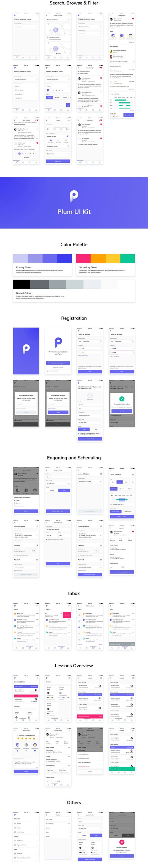 Plum iOS UI Kit