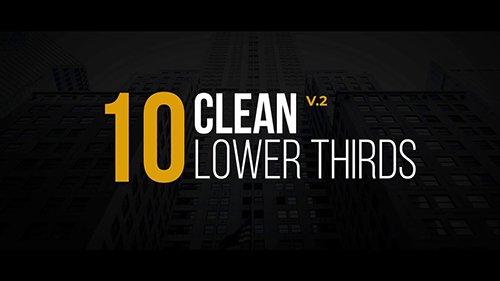 MA - Clean Lower Thirds V.2 143716