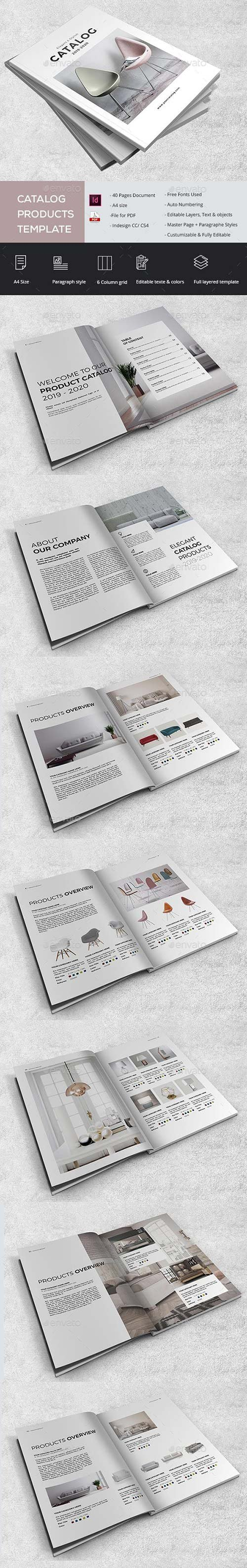 GraphicRiver - Elagant Catalog Products 22875835