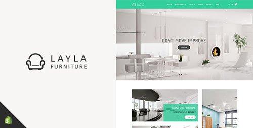 ThemeForest - Layla v1.2 - Furniture Shopify Theme - 21496112