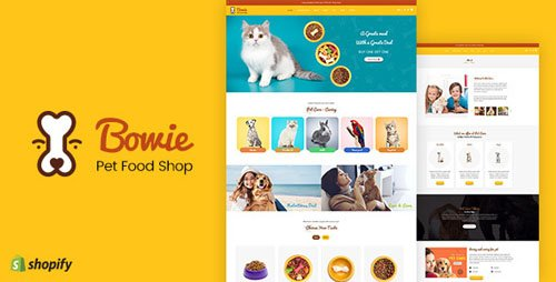 ThemeForest - Bowie v1.0 - Pet, Aquarium, Birds Food, Live Shopify - 22595530