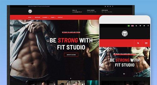 JoomlArt - JA Fit v1.0.2 - Creative Joomla Template For Gym & Fitness