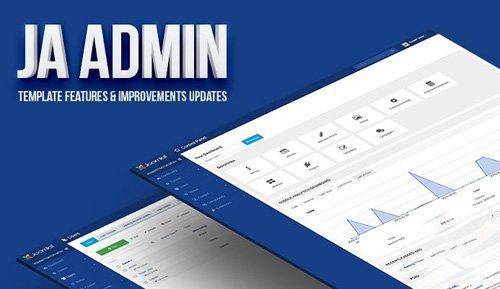JoomlArt - JA Admin v1.0.8 - Best Joomla Admin Template