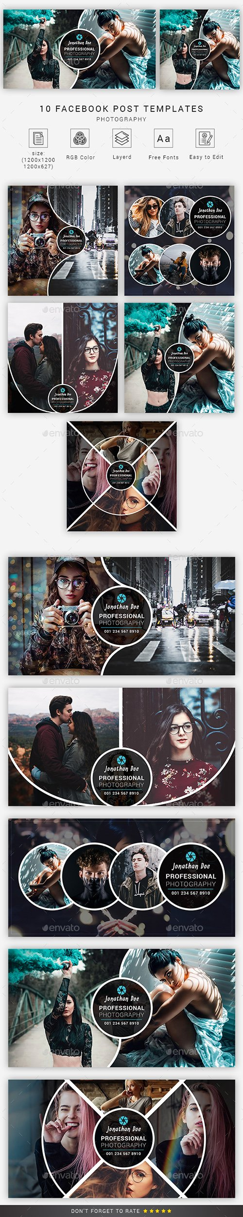 GraphicRiver - Photography Facebook Post 23125854
