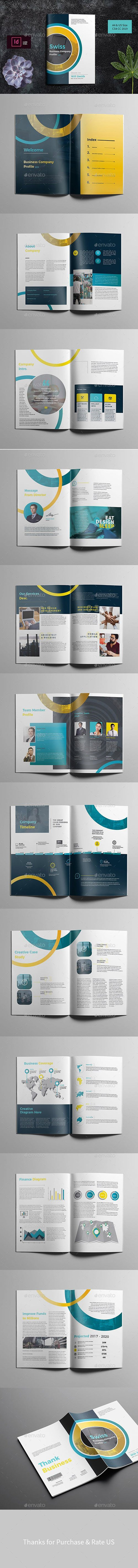 GraphicRiver - Company Report Brochure 23140066