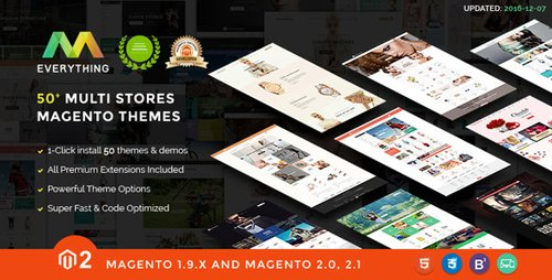 ThemeForest - Magento 2 Themes & Magento 2.2, 2.1, 1.9 - 50+ Templates - Multi-Purpose Responsive - EVERYTHING (Update: 3 October 18) - 12243332