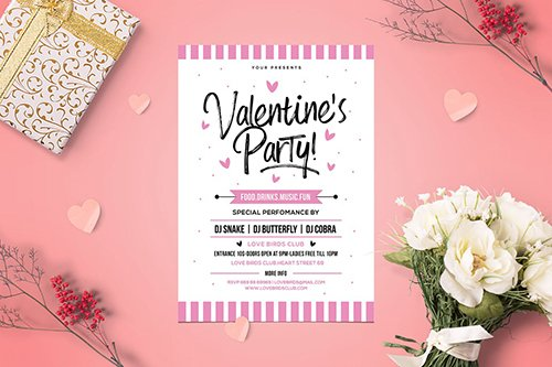 Valentine Party PSD