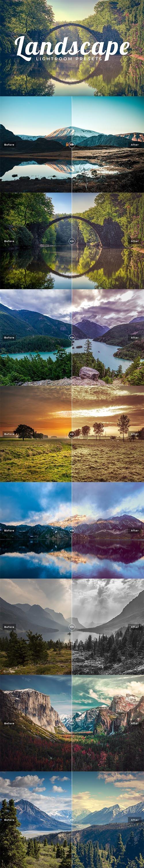 100 Landscape Lightroom Presets Pack