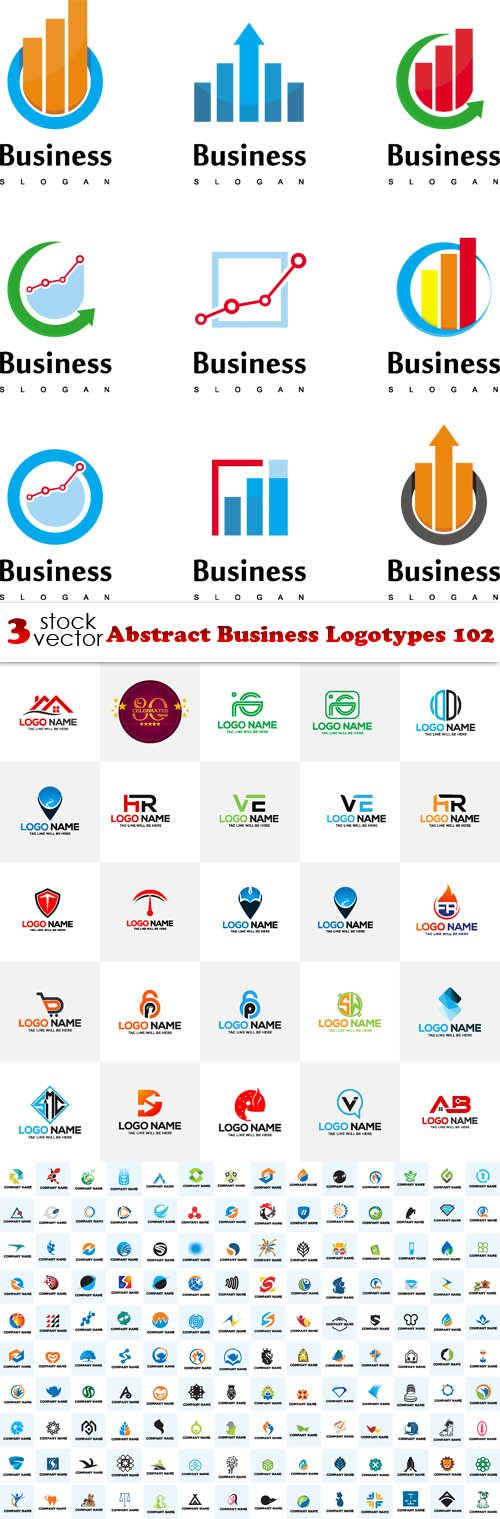 Vectors - Abstract Business Logotypes 102