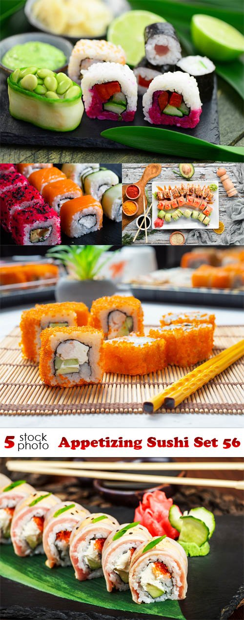 Photos - Appetizing Sushi Set 56