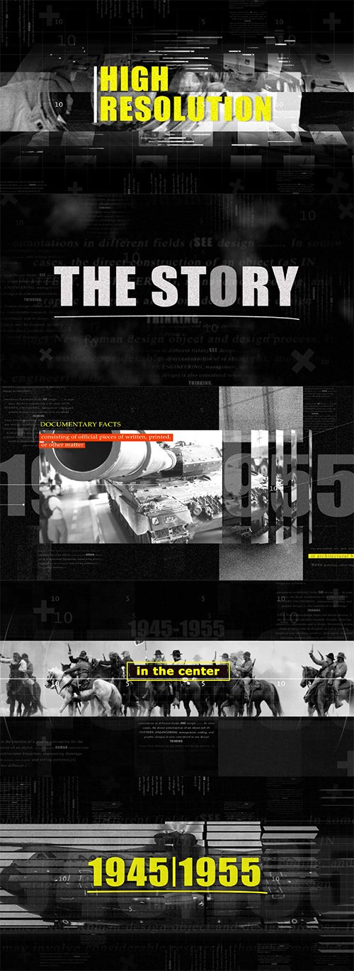 4K War History Documentary Opener 162870
