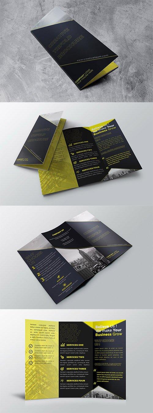 ATrifold Brochure PSD
