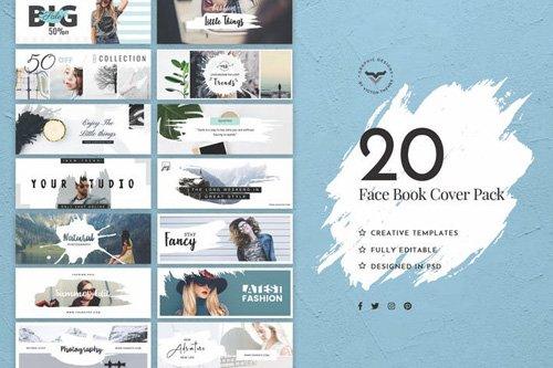 Facebook Cover Social Media Template - 4NJ9NQ