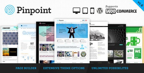 ThemeForest - Pinpoint v1.7.30 - Responsive Multi-Purpose WP Theme - 3760530