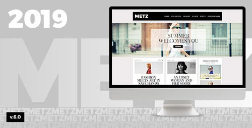 ThemeForest - Metz v6.0 - A Fashioned Editorial Magazine Theme - 11269863