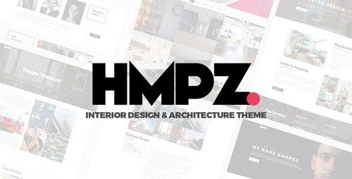 ThemeForest - Hampoz v1.1.3 - Responsive Interior Design & Architecture Theme - 21485108