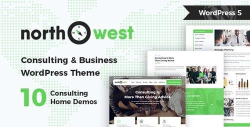ThemeForest - Northwest v1.2.1 - Consulting WordPress Theme - 22188635