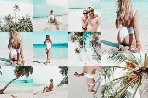 CreativeMarket - 8 TROPICAL BEACH LR MOBILE PRESETS 3354017