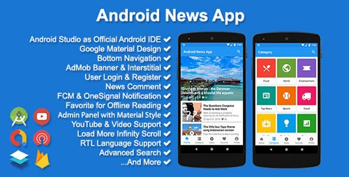 CodeCanyon - Android News App v3.1.0 - 10771397