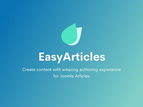 EasyArticles Pro v1.1.3 - Joomla Extension